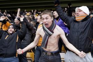 Wolves Fans, Molineux Stadium, Wolverhampton, 2012